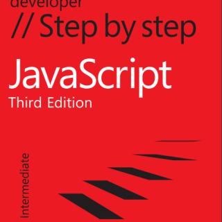 JavaScript Step by Step Third Edition pdf