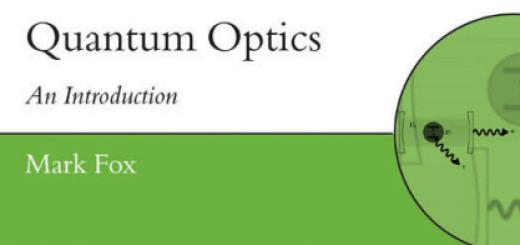 Quantum Optics An Introduction pdf