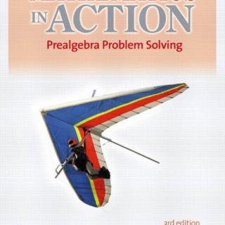 Mathematics in Action Prealgebra Problem Solving 3rd Edition pdf