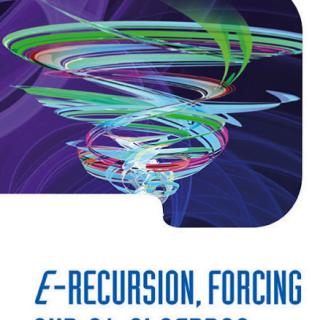 E-recursion Forcing And C algebras pdf.