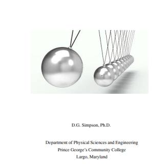 General Physics Classical Mechanics pdf
