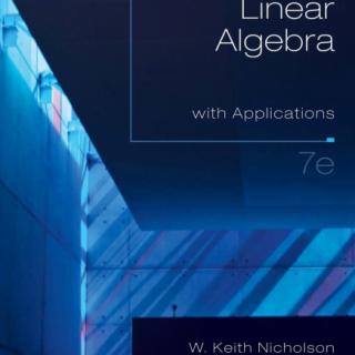 Linear Algebra with Applications 7 Edition pdf