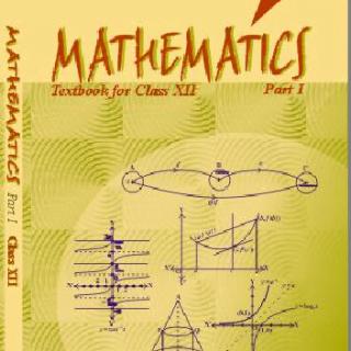 Book mathematics NCERT class 12 pdf