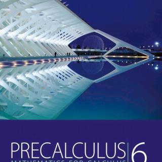 Stewart Precalculus Mathematics for Calculus 6th Ed pdf