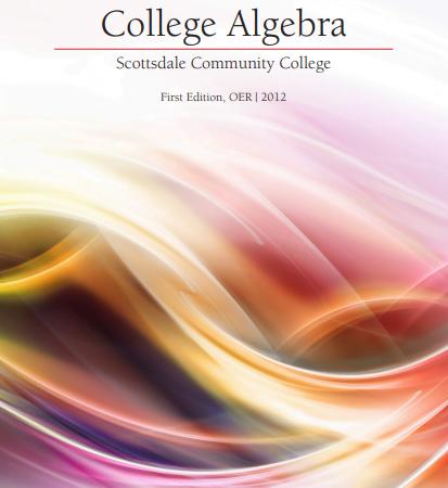 College Algebra Textbook pdf