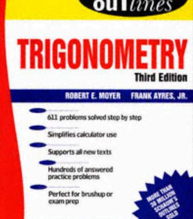 Theory and Problems of TRIGONOMETRY Third Edition pdf