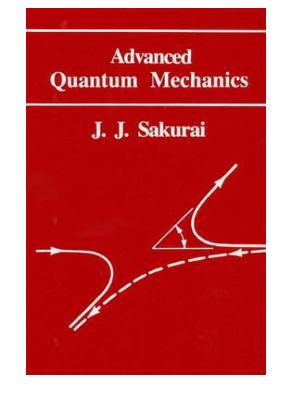 Advanced quantum mechanics by Sakurai pdf