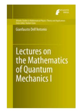 Lectures on the Mathematics of Quantum Mechanics I pdf