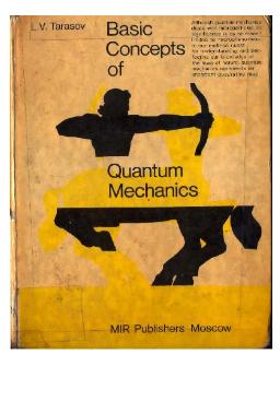 Basic concepts of quantum mechanics pdf - Web Education