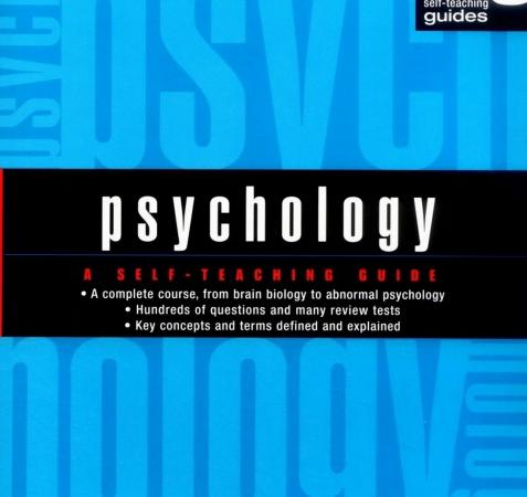 Psychology A Self Teaching Guide by Frank J. Bruno pdf