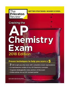 Cracking the AP Chemistry Exam 2018 pdf - Web Education
