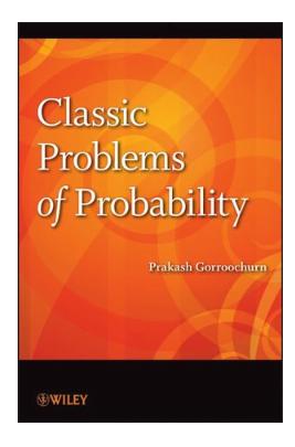Classic Problems of Probability by Prakash Gorroochurn pdf