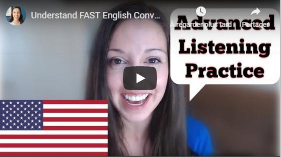 Understand FAST English Conversations