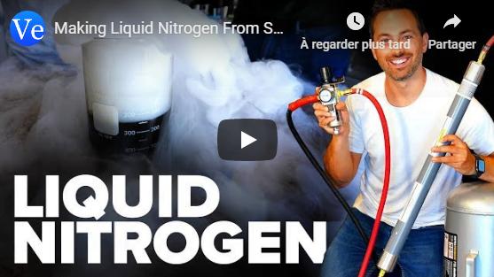 Making Liquid Nitrogen From Scratch video