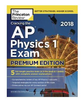 Book Cracking the AP Physics 1 Exam 2018 pdf