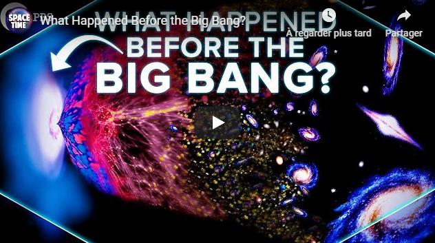 What Happened Before the Big Bang