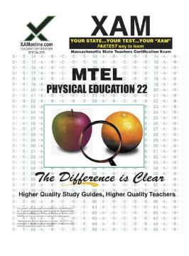 XAM MTEL Physical Education 22 pdf