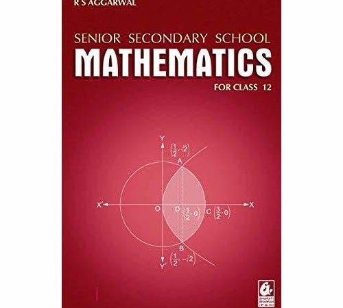 Senior Secondary School Mathematics for Class 12 pdf