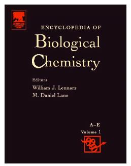 Book Encyclopedia of Biological Chemistry by William J Lennarz pdf