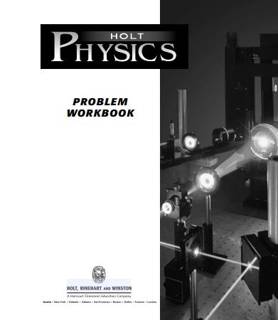 Holt Physics Problem Workbook with Answers pdf