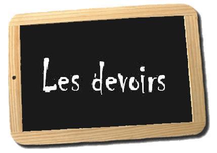 3 DEVOIRS DE RÉVISION + CORRECTION 1ére année