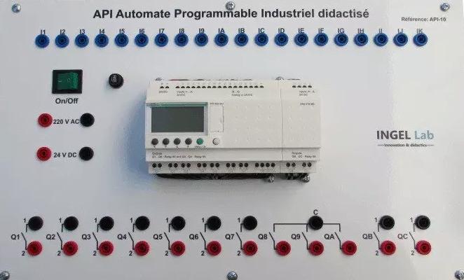 Cours automate programmable industriel API microcontrôleurs pdf