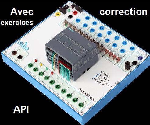 Séries d'exercices avec correction automate programmable industriel API microcontrôleurs pdf