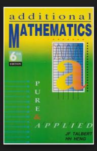 Book Additional Maths pdf