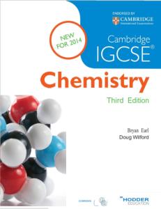 Book Cambridge IGCSE Chemistry pdf