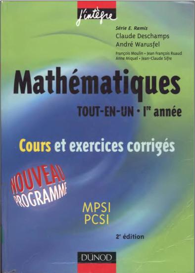 Livre maths mpsi pdf converter
