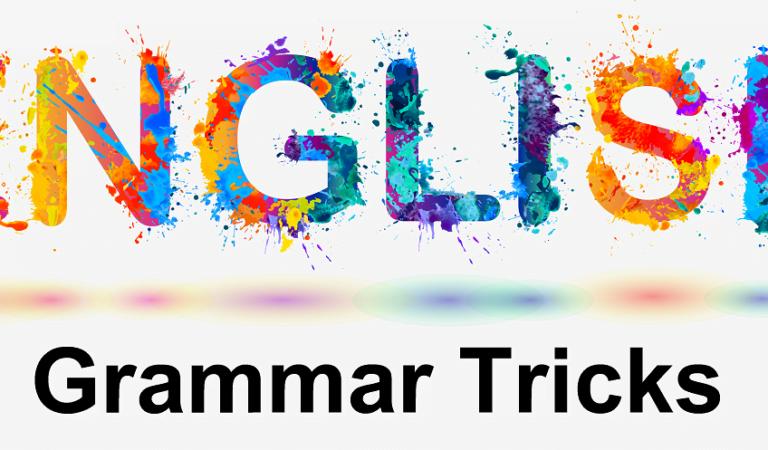 English grammar tricks